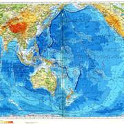 фото тихий океан на карте мира